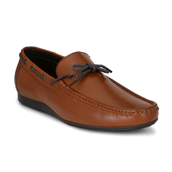 Tan Casual Loafers