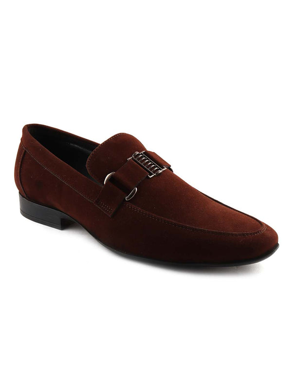 Brown Casual Slip-Ons