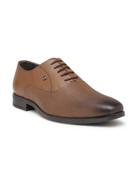Brown Formal Derby Lace-ups