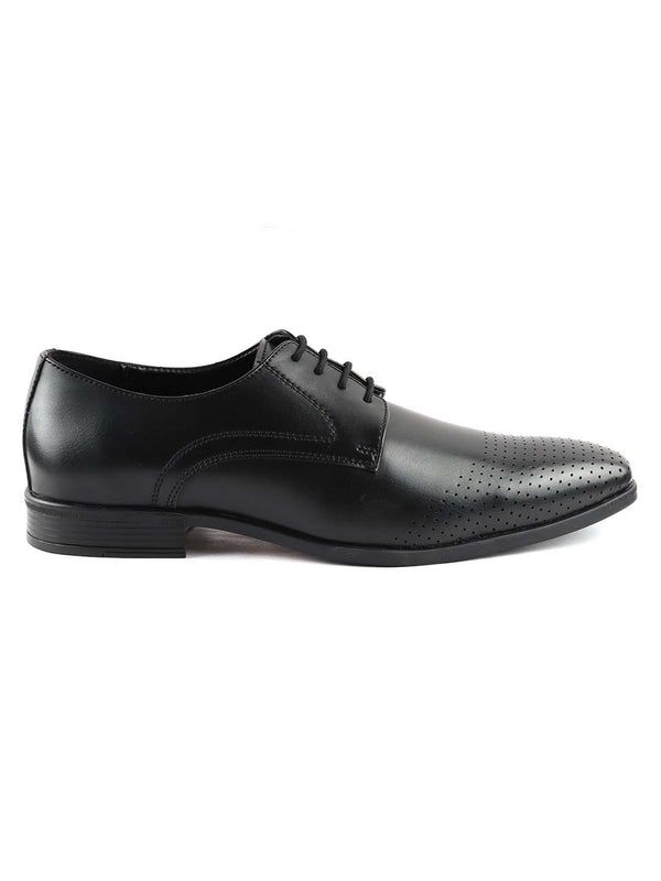 Black Formal Derby Lace-ups