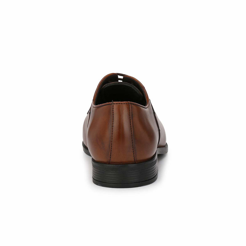 Tan Derby Formal Shoes