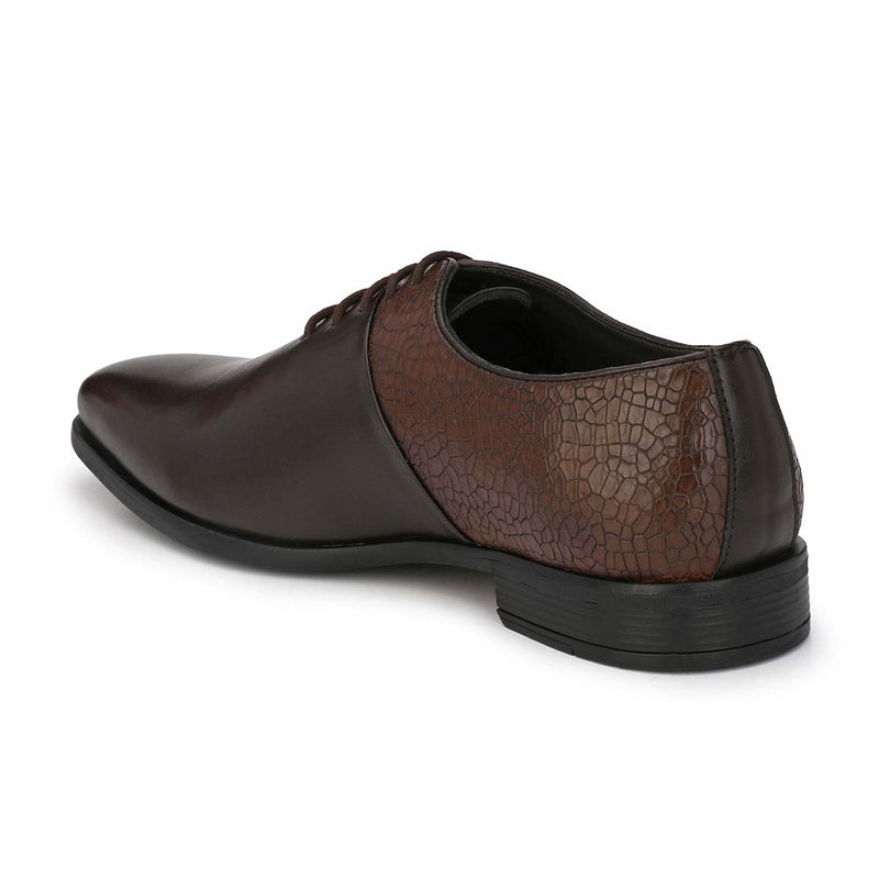 Brown Derby Formal Shoes
