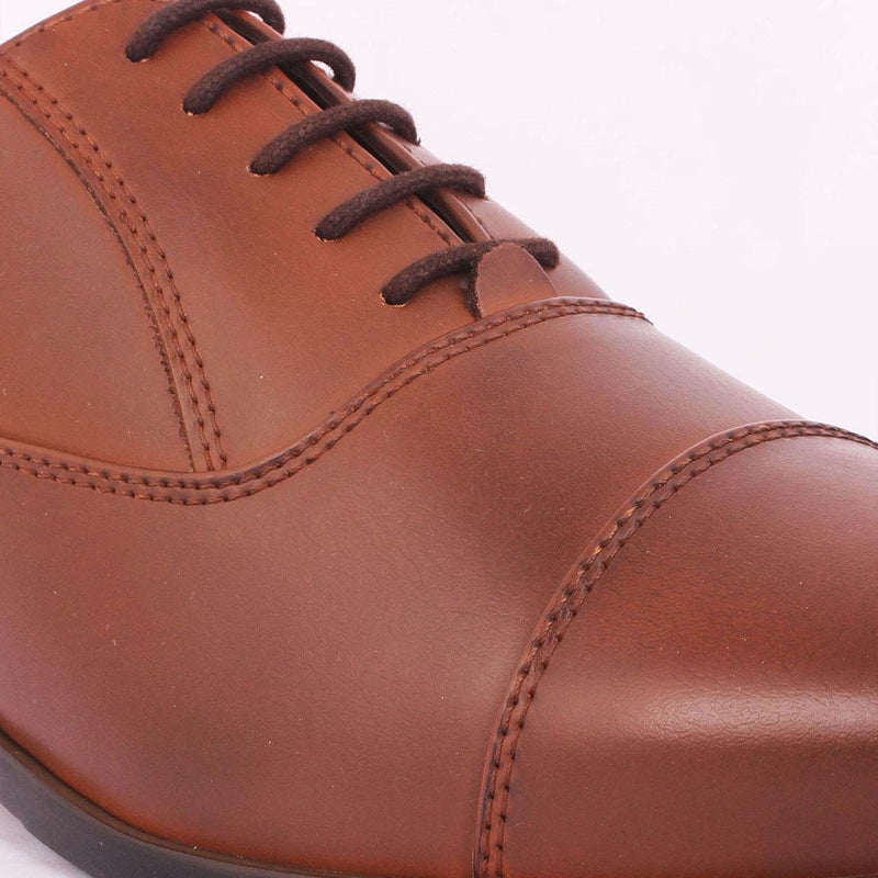 Tan Oxford Lace-ups