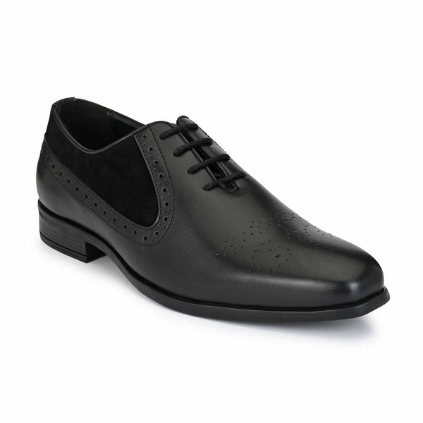 Black Derby Lace Up Formals
