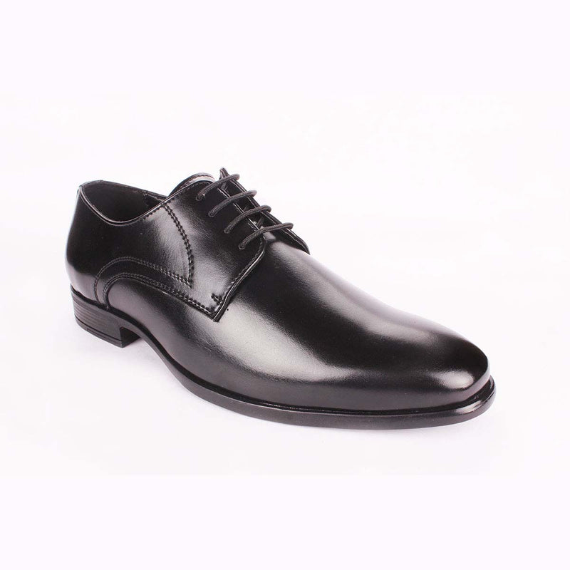 Black Patent Derby Shoes
