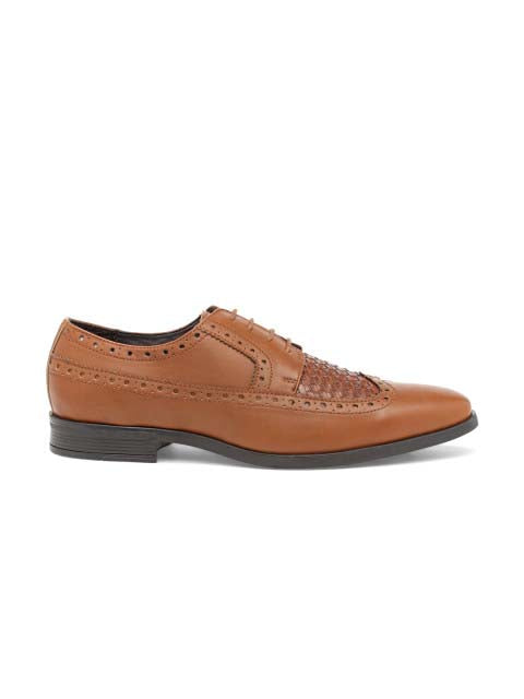 Tan Chatai Brogue Shoes