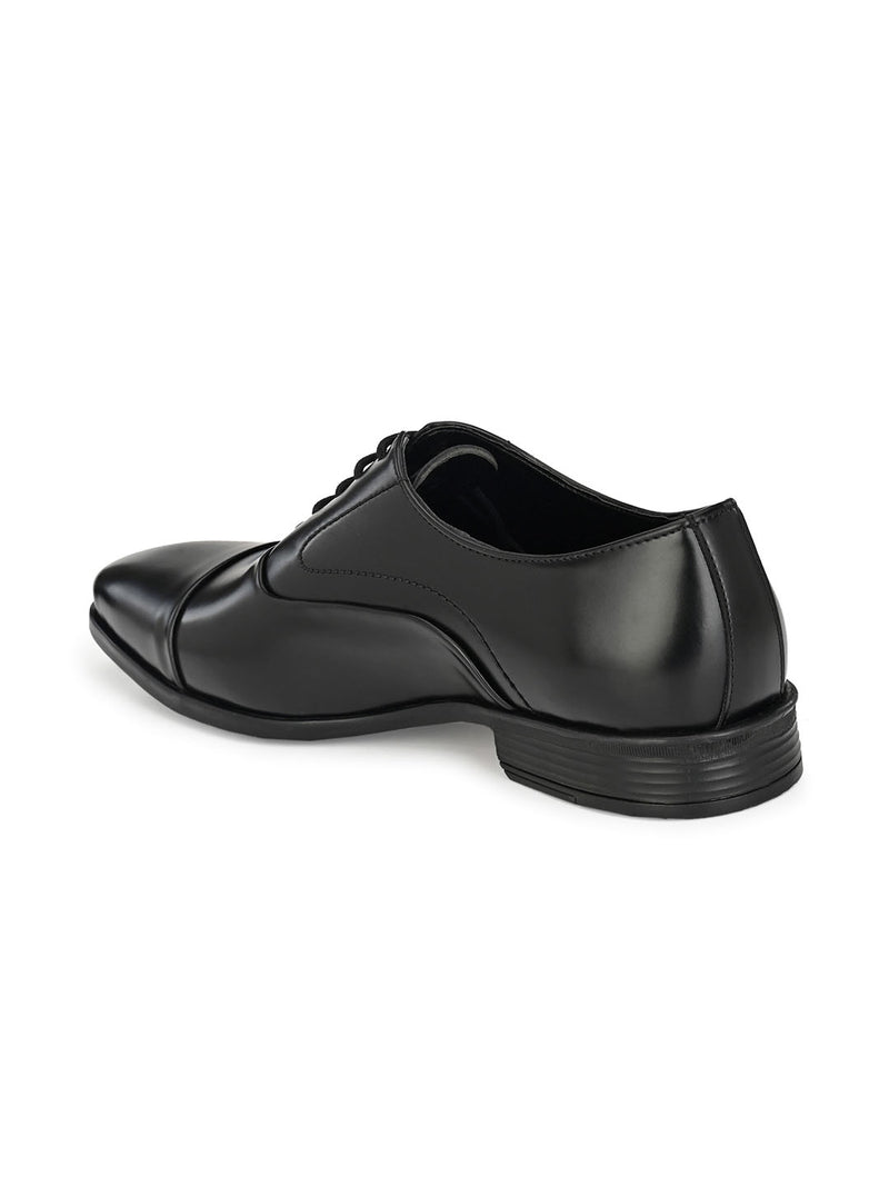 Clean-cut Black Oxfords