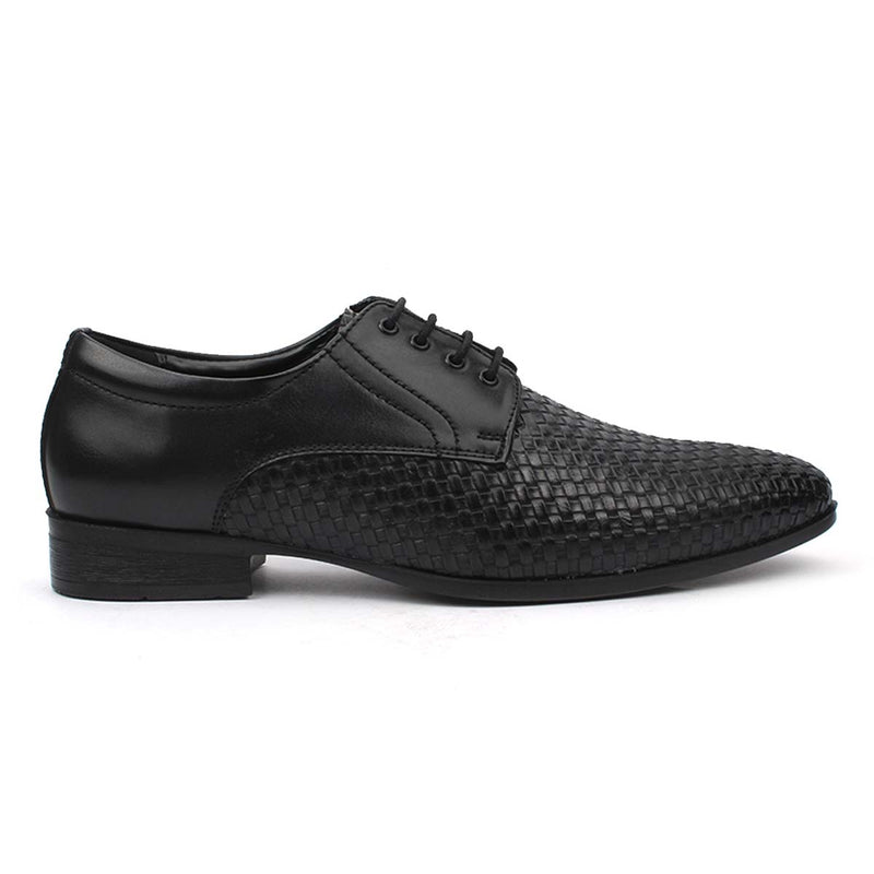 Black Chatai Derby Lace-ups