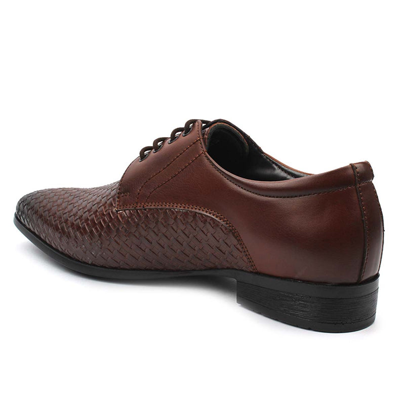 Brown Chatai Derby Lace-ups
