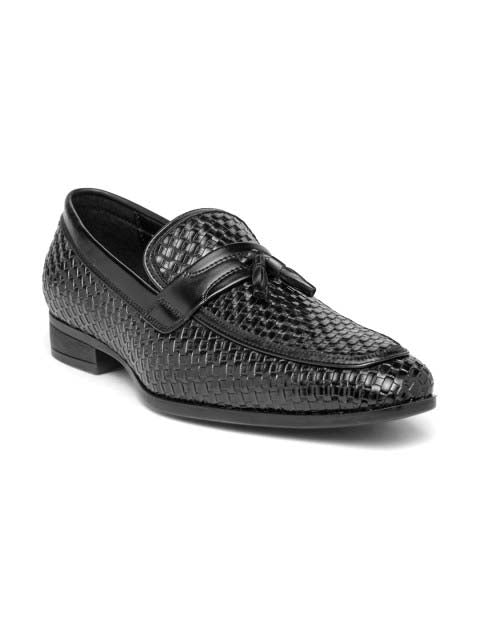 Black Chatai Tassel Loafers