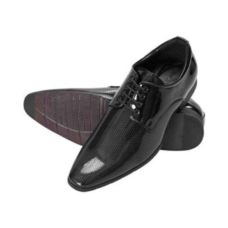 San Frissco Black Formal Derby For Men