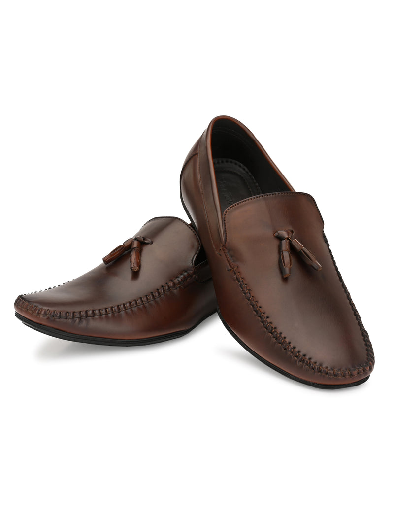 Brown Slip-Ons