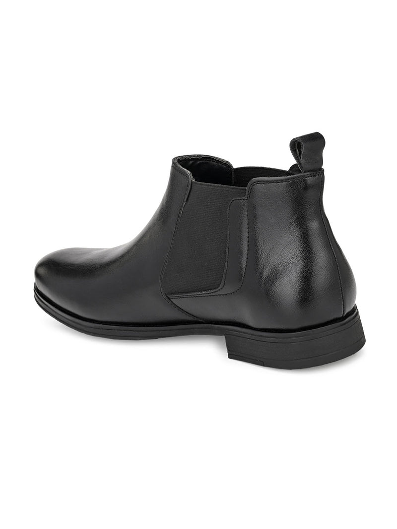 Roadieo Black Boots