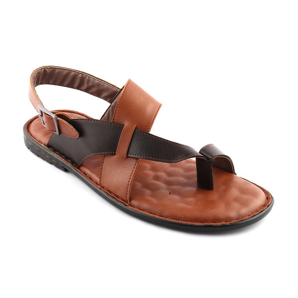 San Frissco Men Tan Slipers