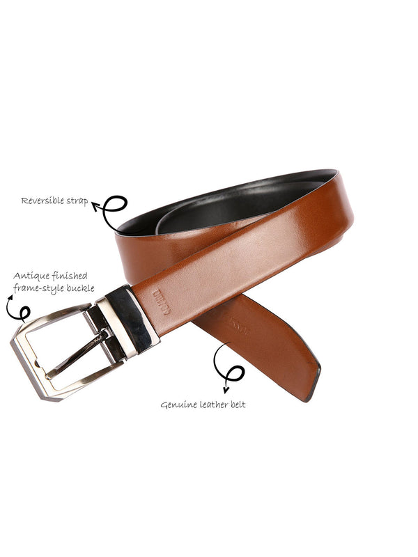 Boxer Solid Reversible Belt