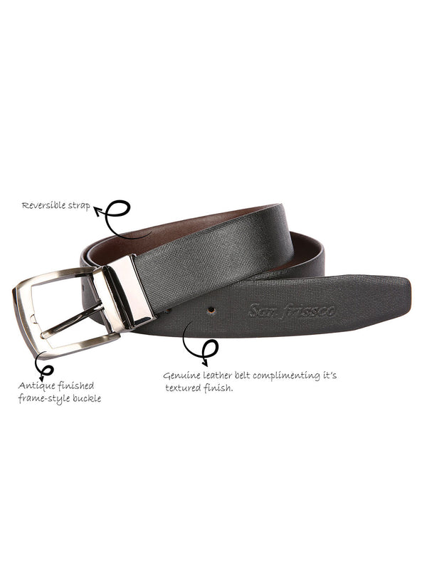 Metro Solid Reversible Belt