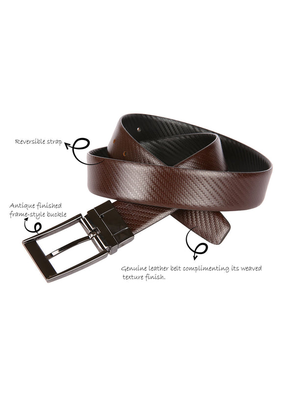 Teakweave Reversible Belt