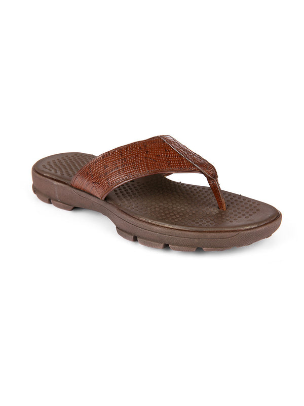 SF Brown Comfort Slippers