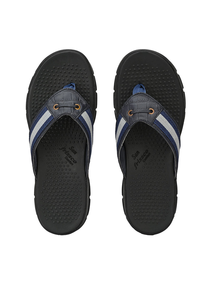 Triology Blue Comfort Slippers