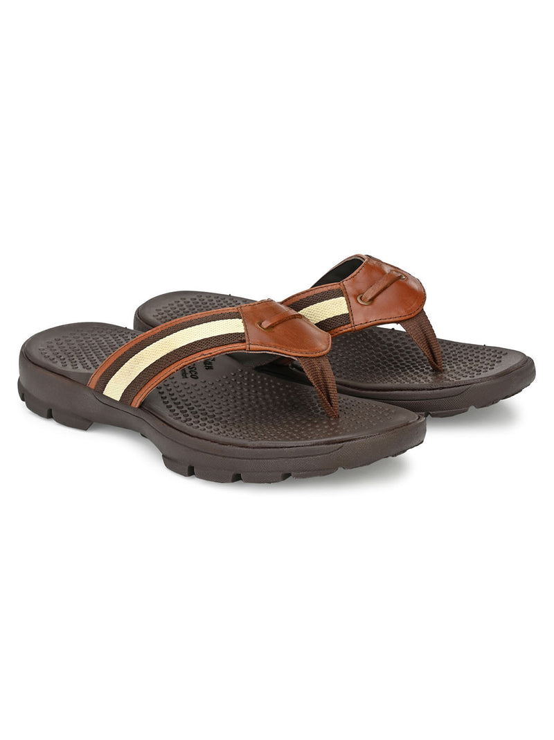 Triology Tan Comfort Slippers