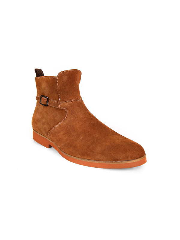 William Dress Boots With Buckle