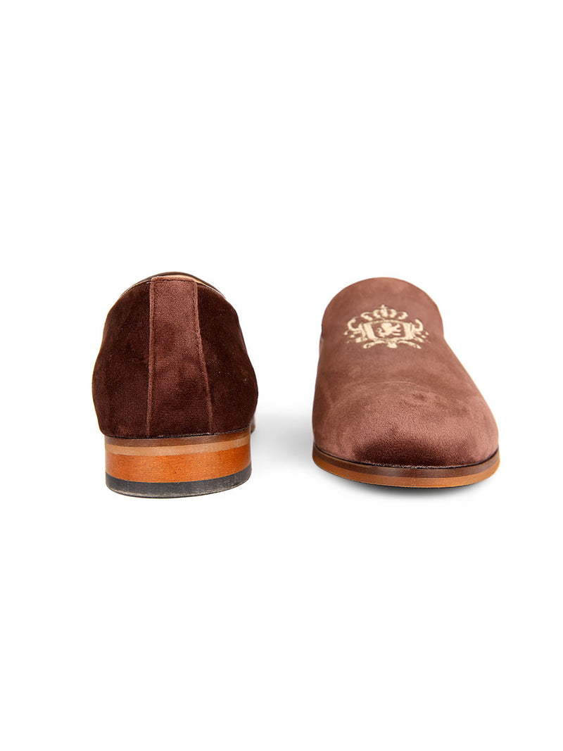 Empire Embroidered Loafers
