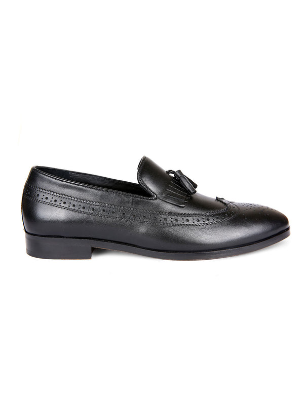 Mr.Chase Kilt Tassel Loafers