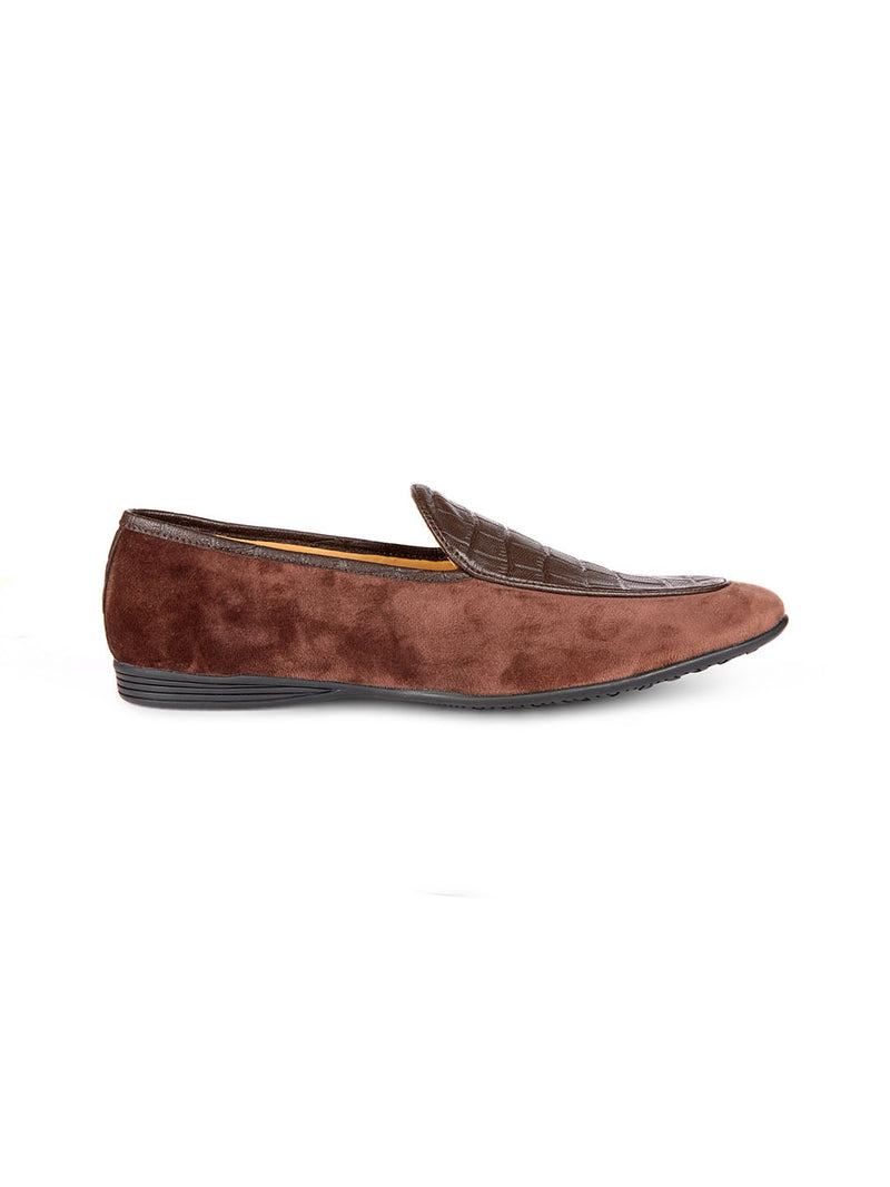 St.Barts Brown Moccasin