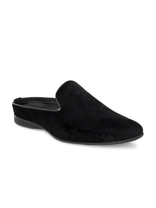 Luxe Darknight Black Mules
