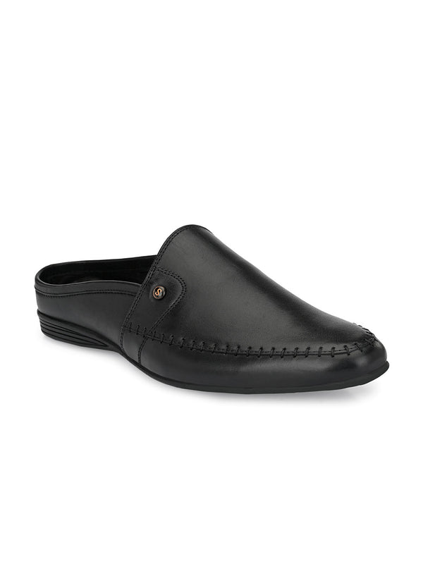 Alpha Black Mules