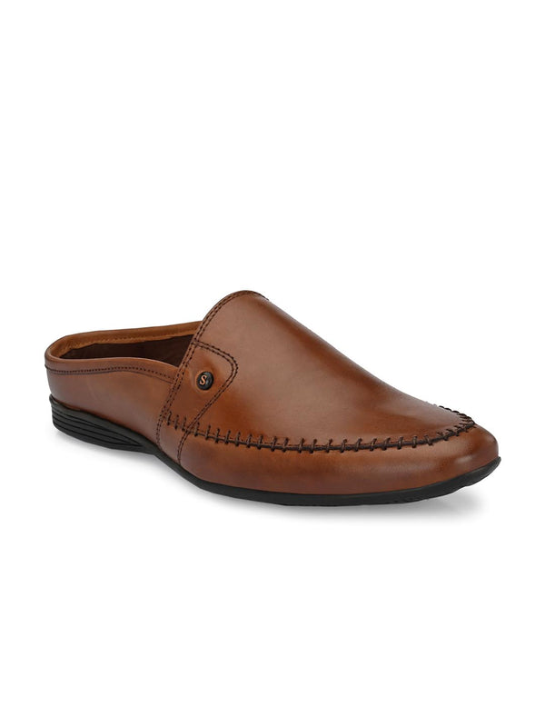 Alpha Brown Mules