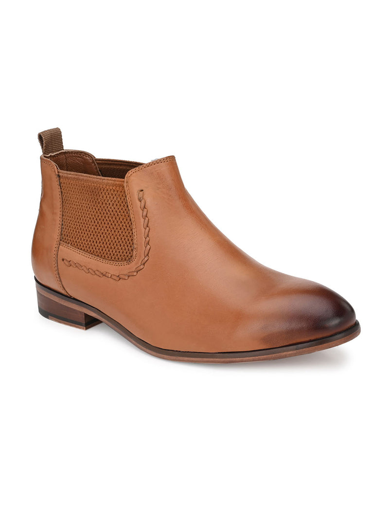 Godfather Tan Boots