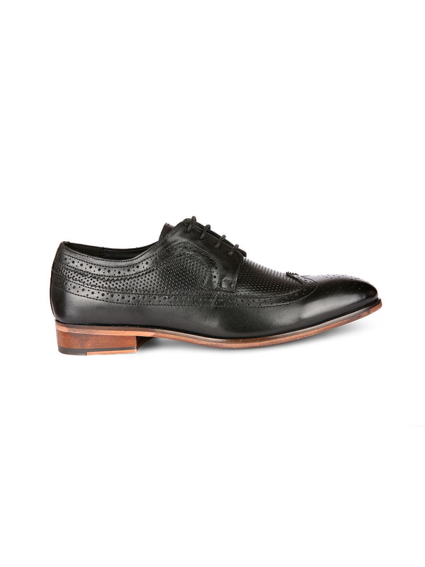 Bastian Black Brogues