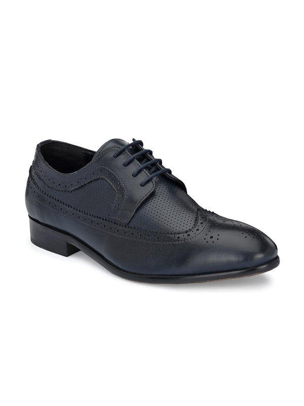 Bastian Blue Brogues