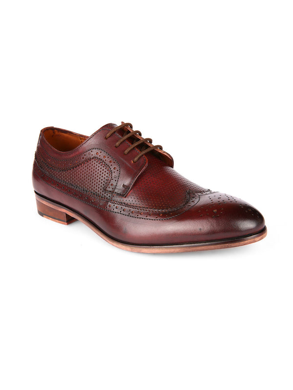 Bastian Cherry Brogues
