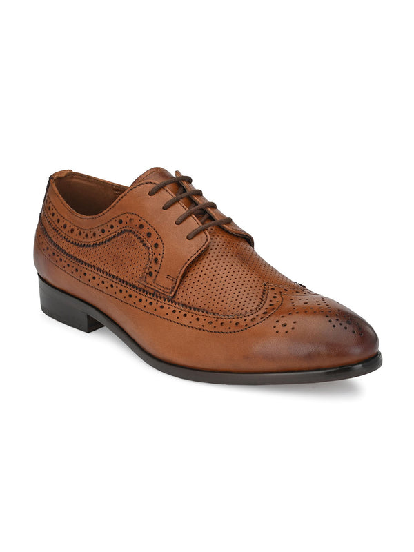 Bastian Tan Brogues