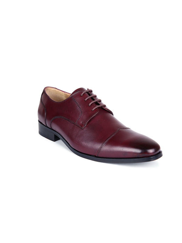 Louis Cherry Oxford Shoes