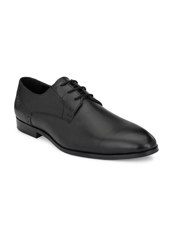 Blake Black Derby Shoes