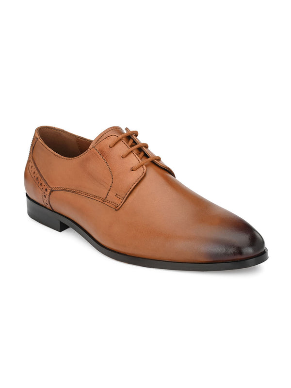 Blake Tan Derby Shoes