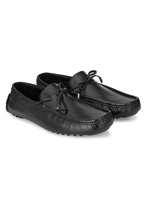 Voguish Black Moccasin