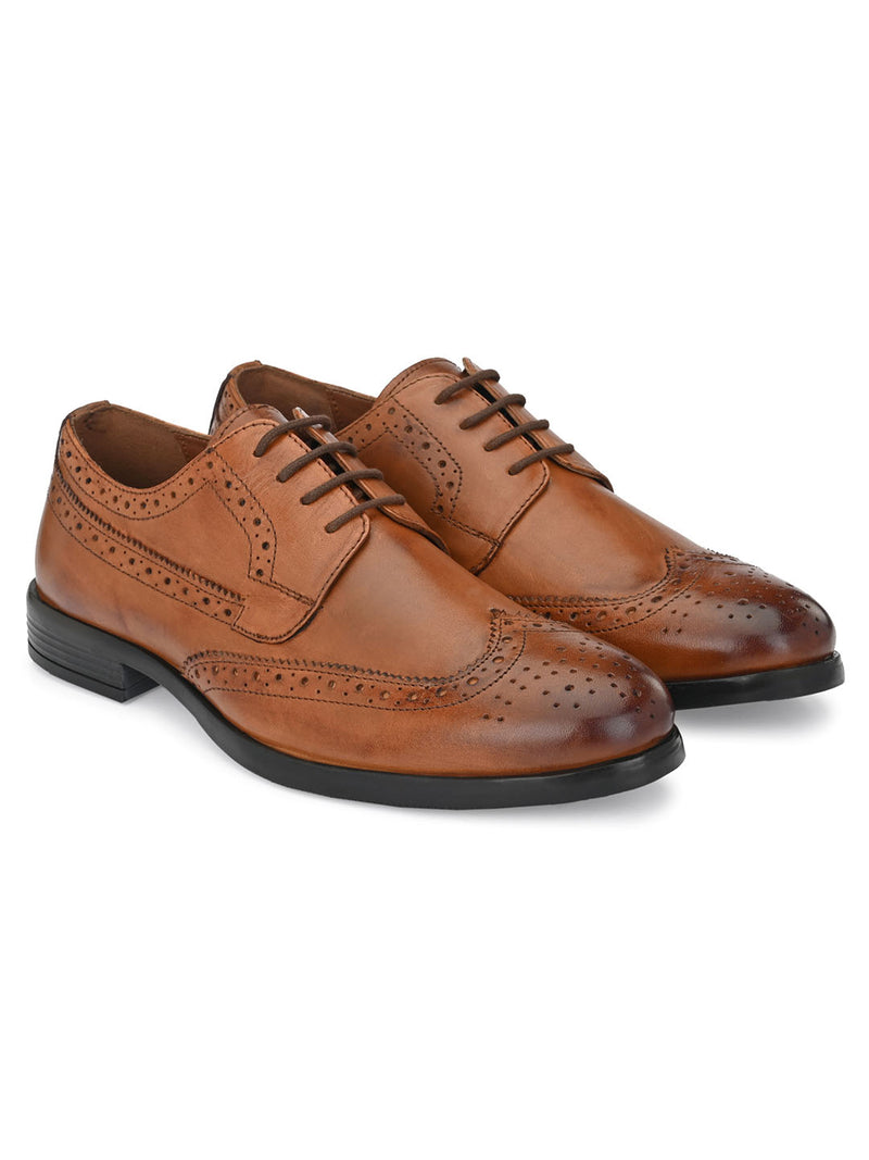 Darvey Tan Brogues