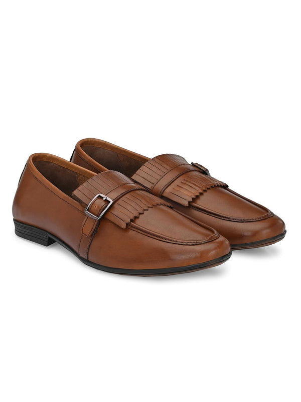Troy Kilt Loafers in Brown