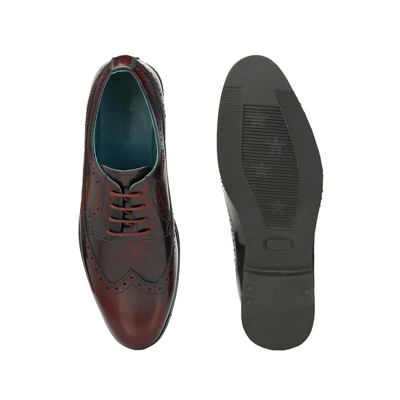 Macchiato Marsala Formal Brogues