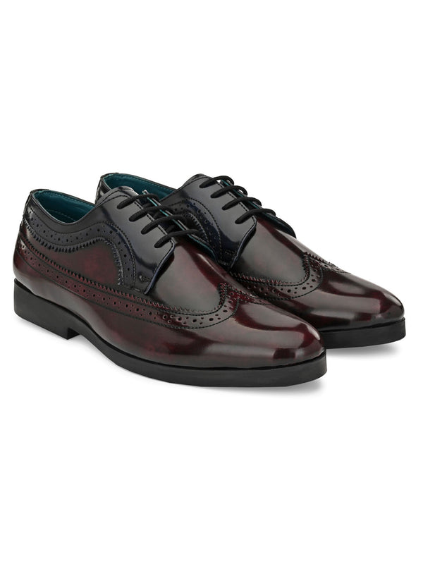 Hunk Cherry Brogues