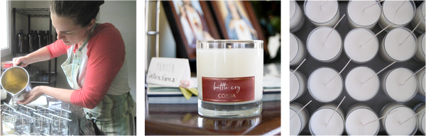 Why behind CORDA Catholic candles