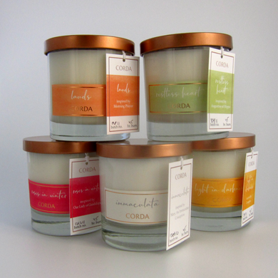 Set of 5 Winter 2019 Launch Candles - Free US Shipping