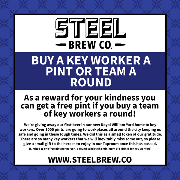 Treat A Key Worker or Team of Key Workers to a Pint