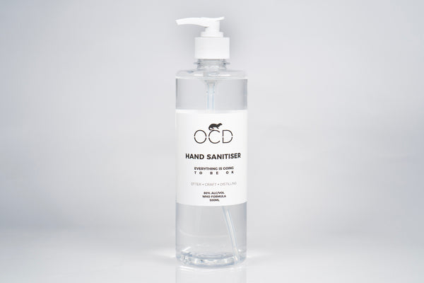 OCD Hand Sanitiser 500ML with pump