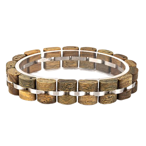 Brown Wooden Bracelet for Woman