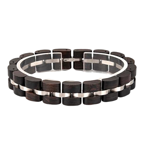 Black Women Wooden Bracelet